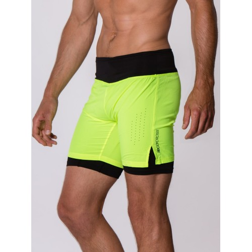 BODYCROSS Short Onder Néon Yellow