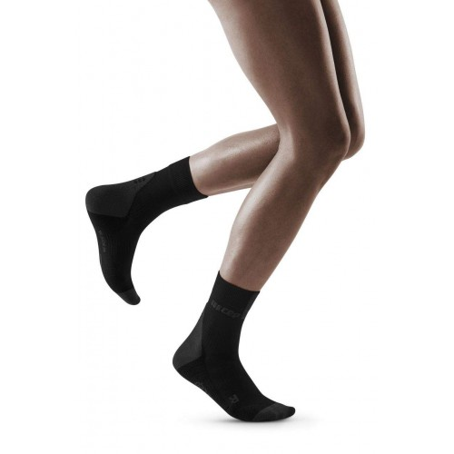 CEP Compression Short Socks 3.0 W Black