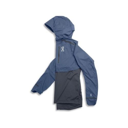 ON Weather Jacket M Cerulean/Dark