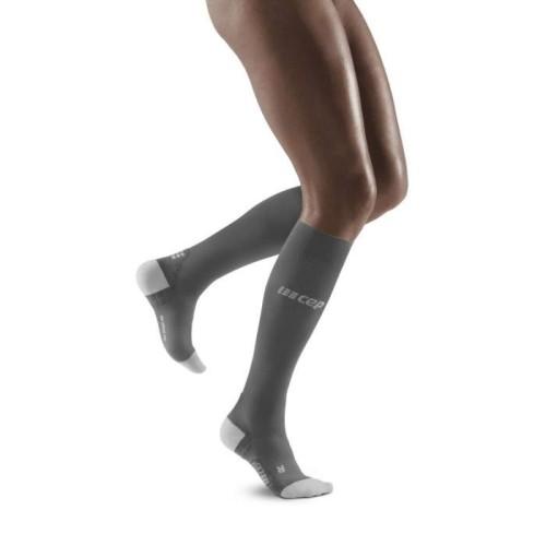 CEP run ultralight socks, black/light grey W