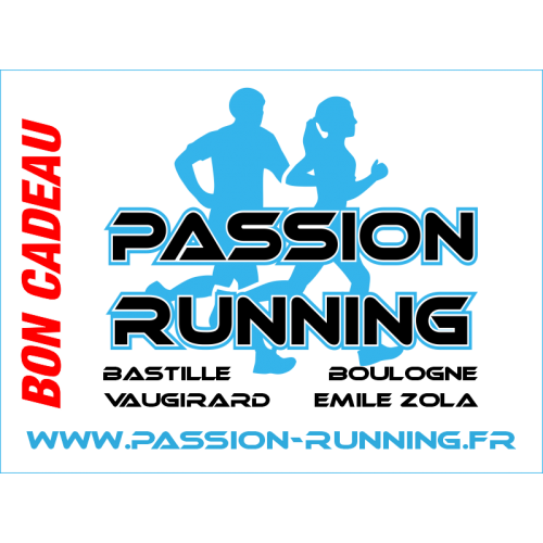 Bon Cadeau 140 Passion Running
